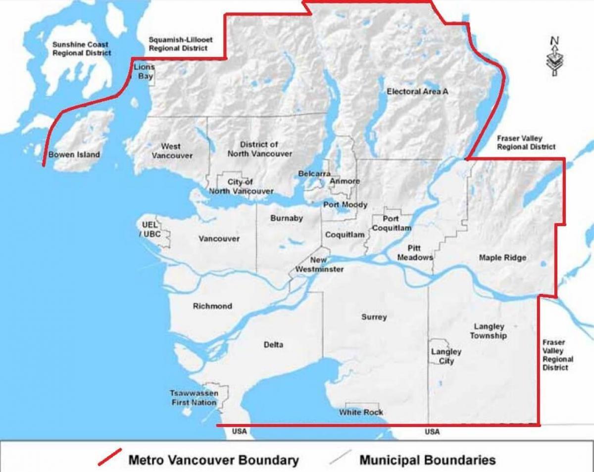 Vancouver Tube Map Vancouver metro map   Vancouver tube map (British Columbia   Canada)